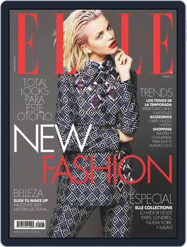Elle México (Digital) August 3rd, 2012 Issue Cover