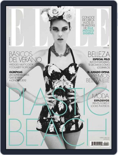 Elle México (Digital) May 25th, 2012 Issue Cover