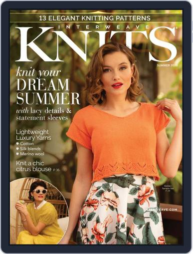 Interweave Knits April 16th, 2020 Digital Back Issue Cover
