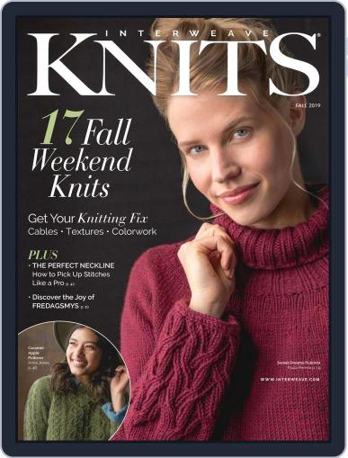 Interweave Knits July 18th, 2019 Digital Back Issue Cover