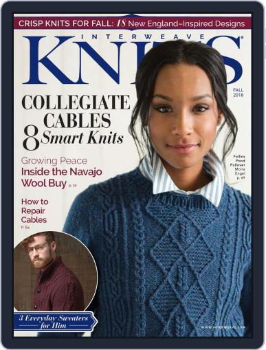 Interweave Knits September 1st, 2018 Digital Back Issue Cover