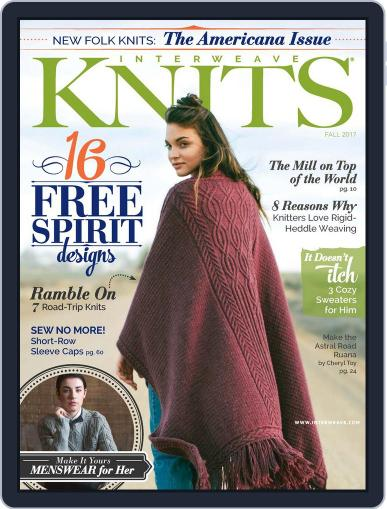 Interweave Knits July 20th, 2017 Digital Back Issue Cover