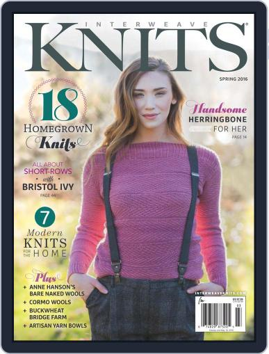 Interweave Knits (Digital) February 5th, 2016 Issue Cover
