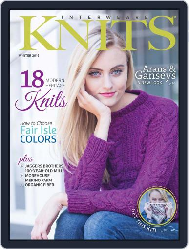 Interweave Knits (Digital) November 4th, 2015 Issue Cover