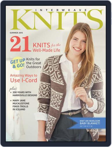 Interweave Knits (Digital) May 6th, 2015 Issue Cover