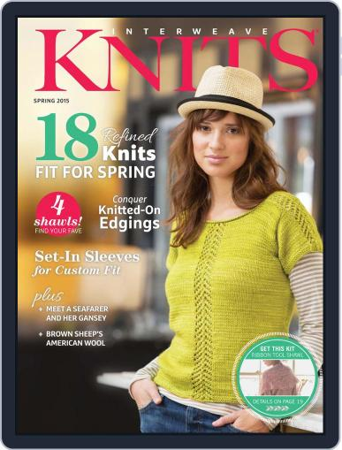 Interweave Knits February 5th, 2015 Digital Back Issue Cover