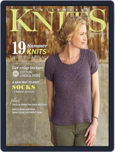 Interweave Knits (Digital) May 7th, 2014 Issue Cover