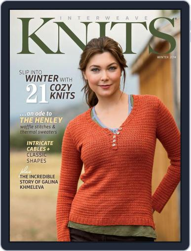 Interweave Knits November 6th, 2013 Digital Back Issue Cover