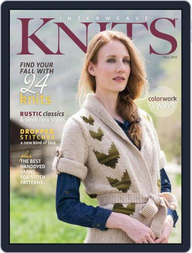 Interweave Knits (Digital) August 7th, 2013 Issue Cover