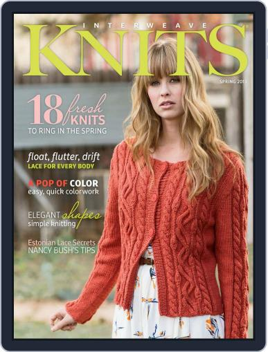 Interweave Knits (Digital) February 6th, 2013 Issue Cover