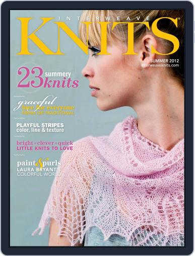 Interweave Knits (Digital) May 7th, 2012 Issue Cover