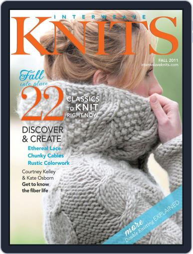 Interweave Knits July 27th, 2011 Digital Back Issue Cover