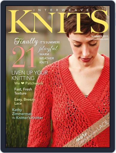 Interweave Knits (Digital) May 18th, 2011 Issue Cover