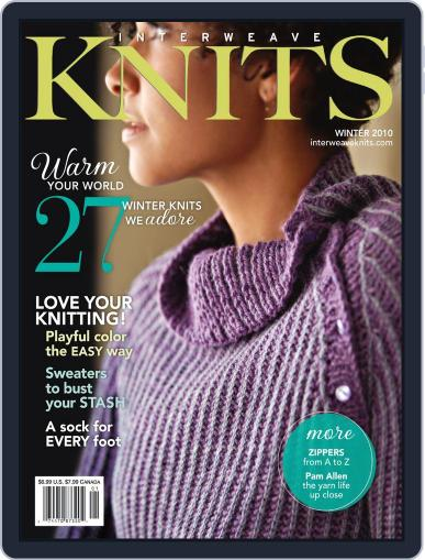 Interweave Knits January 7th, 2011 Digital Back Issue Cover