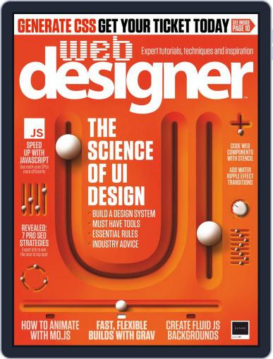 Web Designer September 13th, 2019 Digital Back Issue Cover