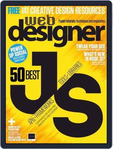 Web Designer (Digital) September 1st, 2019 Issue Cover