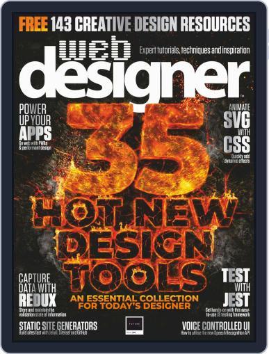 Web Designer August 1st, 2019 Digital Back Issue Cover