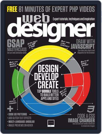 Web Designer (Digital) March 1st, 2019 Issue Cover