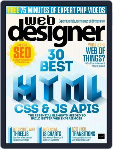 Web Designer (Digital) February 1st, 2019 Issue Cover