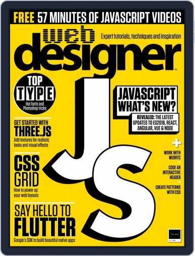 Web Designer (Digital) December 1st, 2018 Issue Cover