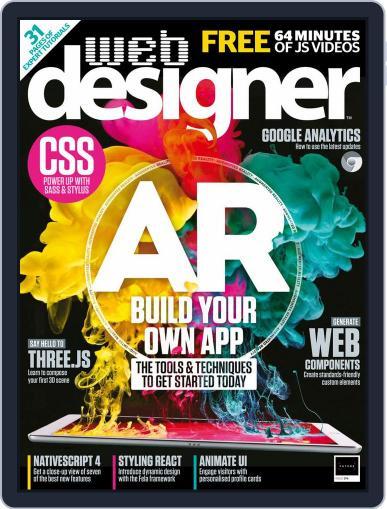 Web Designer (Digital) October 1st, 2018 Issue Cover