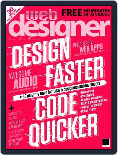 Web Designer (Digital) September 1st, 2018 Issue Cover