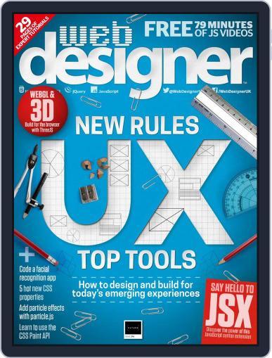 Web Designer (Digital) August 1st, 2018 Issue Cover