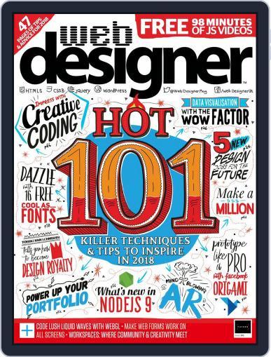Web Designer April 1st, 2018 Digital Back Issue Cover