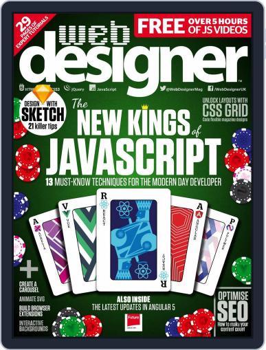 Web Designer March 1st, 2018 Digital Back Issue Cover