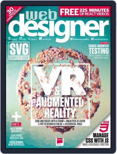 Web Designer (Digital) January 1st, 2018 Issue Cover