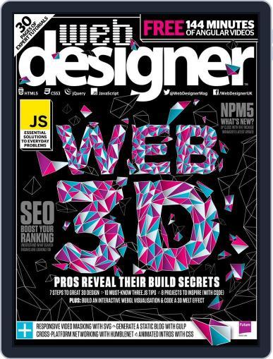Web Designer (Digital) November 1st, 2017 Issue Cover