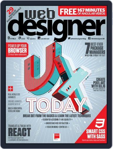 Web Designer October 1st, 2017 Digital Back Issue Cover
