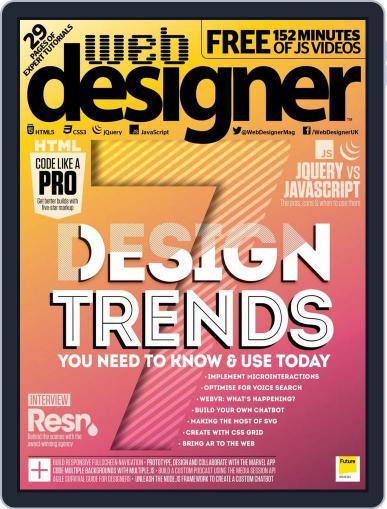 Web Designer July 1st, 2017 Digital Back Issue Cover