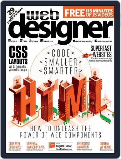Web Designer May 1st, 2017 Digital Back Issue Cover