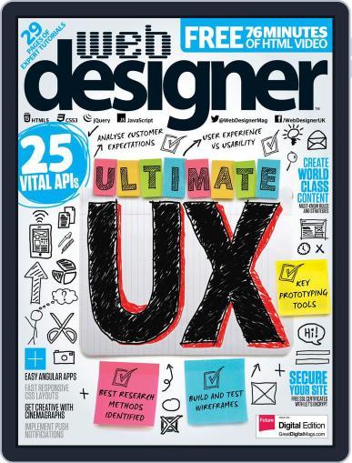 Web Designer (Digital) January 1st, 2017 Issue Cover