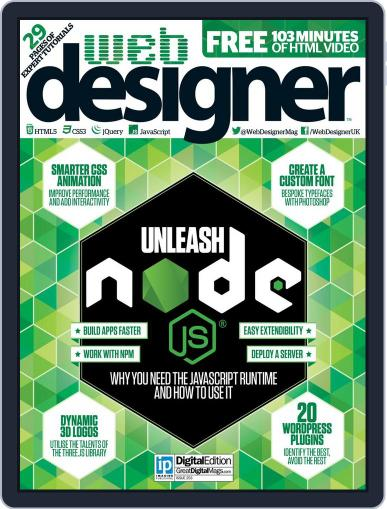 Web Designer (Digital) November 1st, 2016 Issue Cover