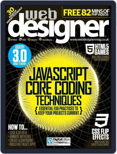 Web Designer (Digital) July 20th, 2016 Issue Cover