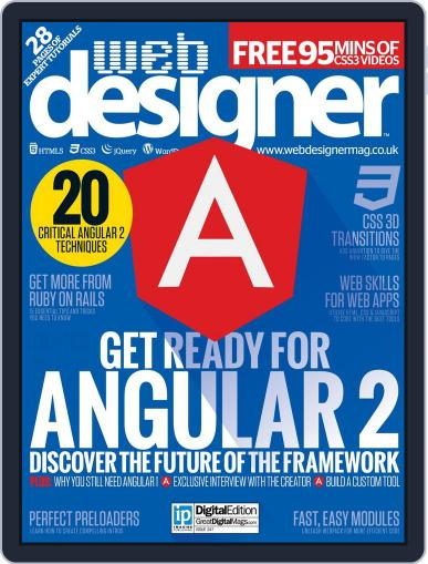 Web Designer (Digital) March 31st, 2016 Issue Cover
