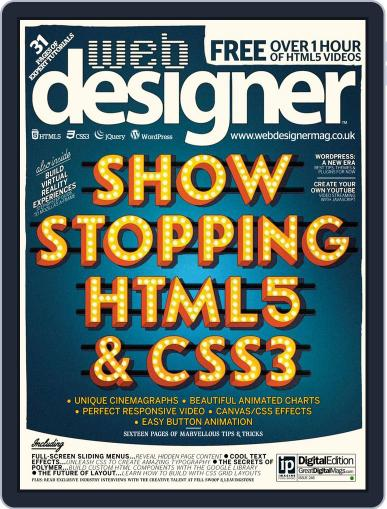 Web Designer (Digital) March 3rd, 2016 Issue Cover