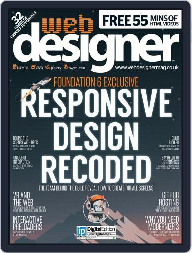 Web Designer (Digital) December 31st, 2015 Issue Cover