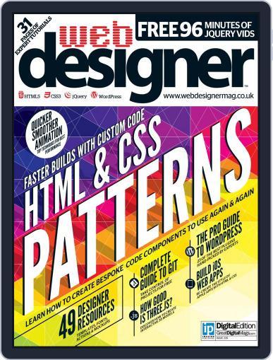 Web Designer August 31st, 2015 Digital Back Issue Cover