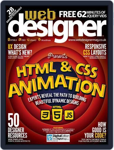 Web Designer July 31st, 2015 Digital Back Issue Cover