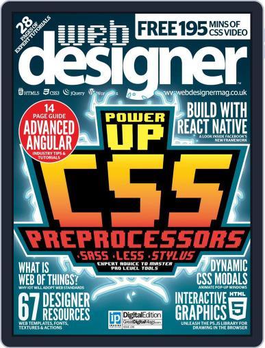 Web Designer May 31st, 2015 Digital Back Issue Cover