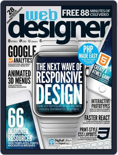 Web Designer March 31st, 2015 Digital Back Issue Cover