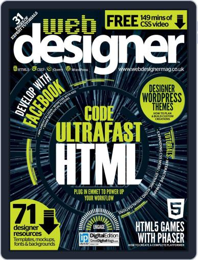 Web Designer (Digital) December 10th, 2014 Issue Cover