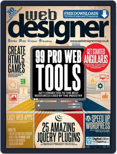 Web Designer (Digital) November 12th, 2014 Issue Cover