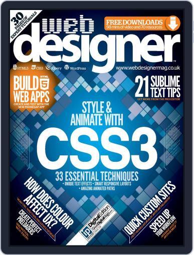 Web Designer (Digital) October 16th, 2014 Issue Cover