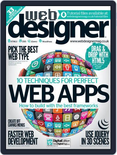 Web Designer (Digital) September 17th, 2014 Issue Cover