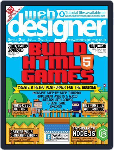 Web Designer July 23rd, 2014 Digital Back Issue Cover