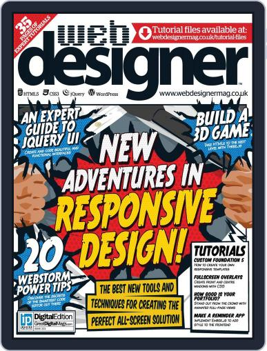 Web Designer (Digital) May 28th, 2014 Issue Cover